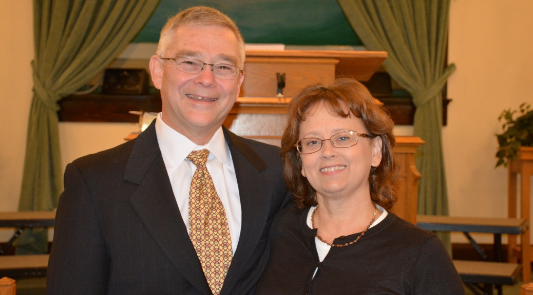 Pastor Mark and Judy
