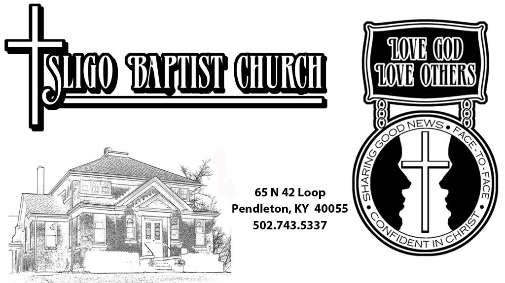 Sligo Baptist Church Logo and mission statement